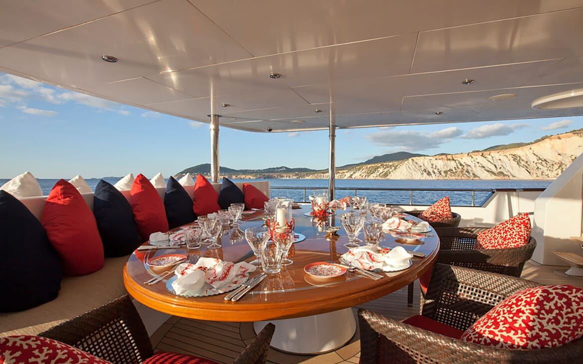 Motor Yacht Big Change II aft shot