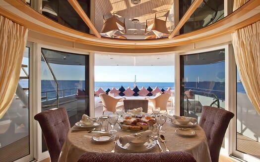 Motor Yacht Big Change II stairwell