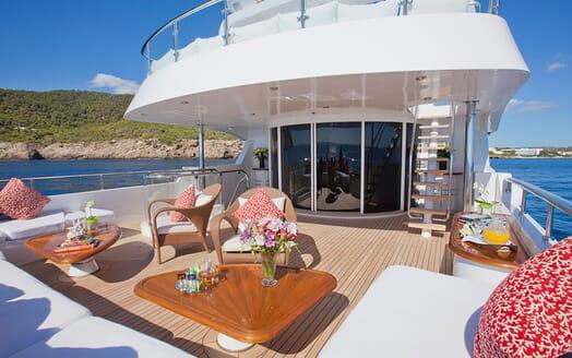 Motor Yacht Big Change II main deck