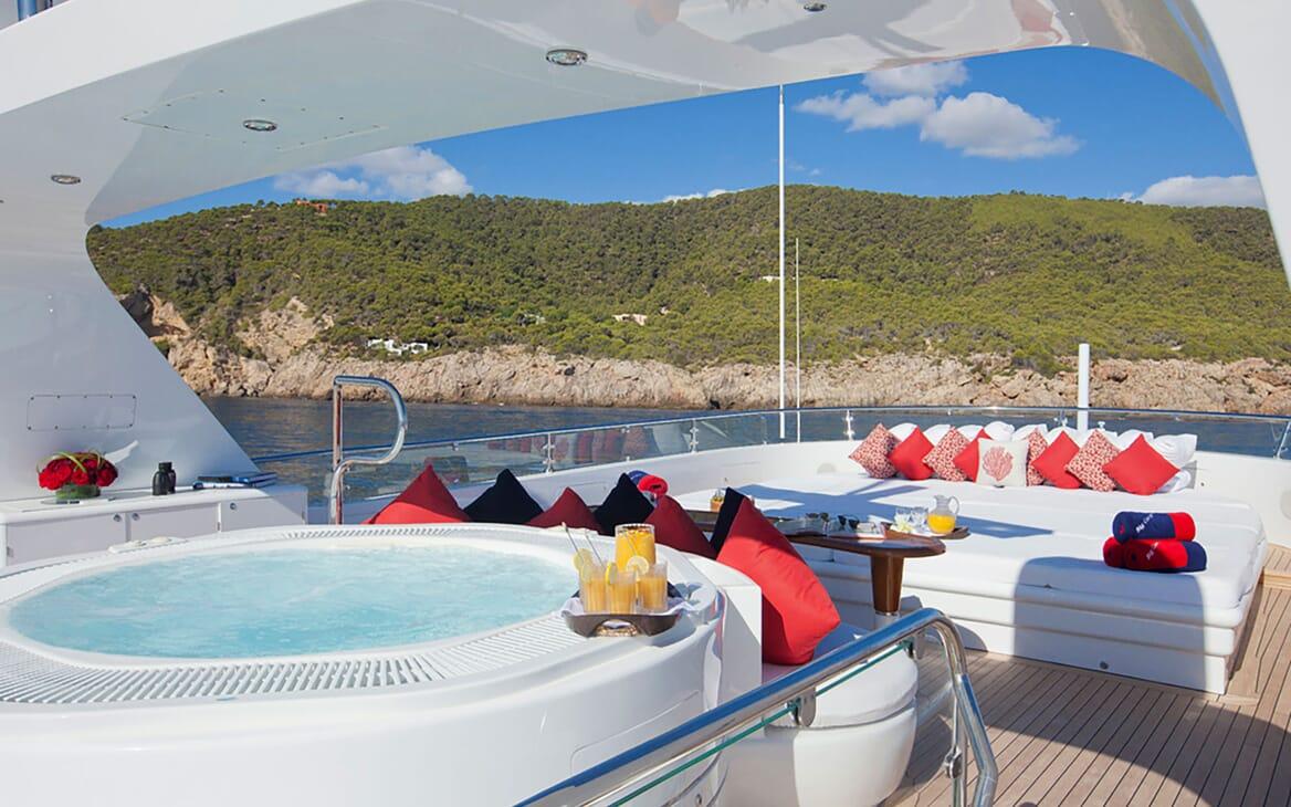 Motor Yacht Big Change II sundeck