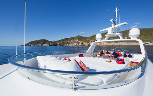 Motor Yacht Big Change II flydeck