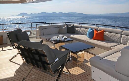 Motor Yacht AURELIA Aft Deck