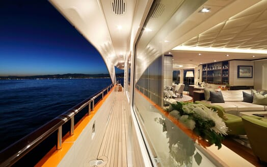 Motor Yacht AURELIA Walkway