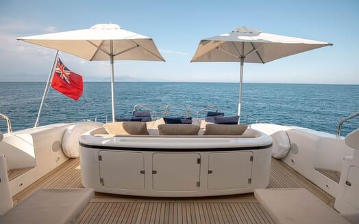 Motor Yacht ELLERY Aft Deck