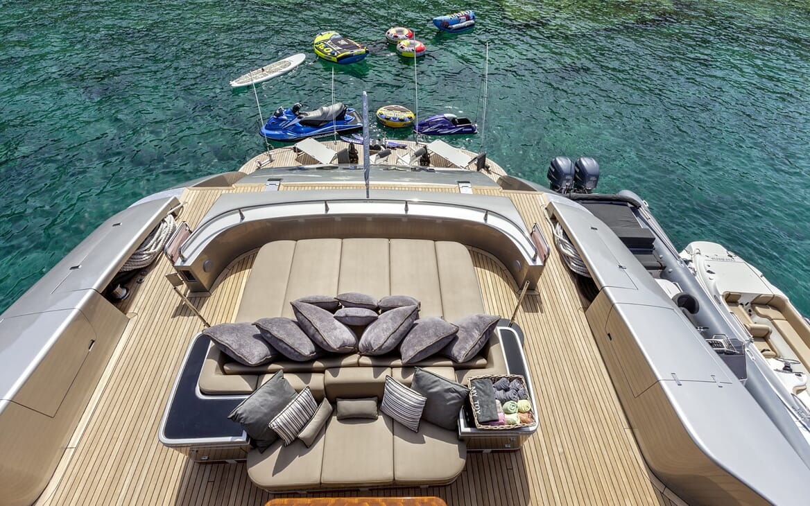 Motor Yacht My Toy aerial