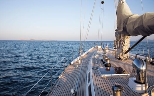 Sailing Yacht CYCLOS II Top Deck
