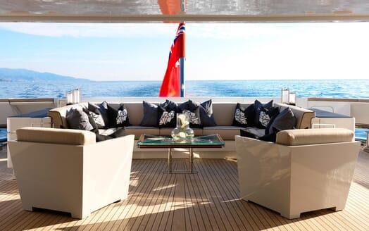 Motor Yacht SEALYON Upper Aft Deck