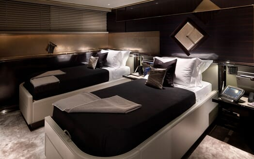 Motor Yacht SEALYON Twin Guest Stateroom