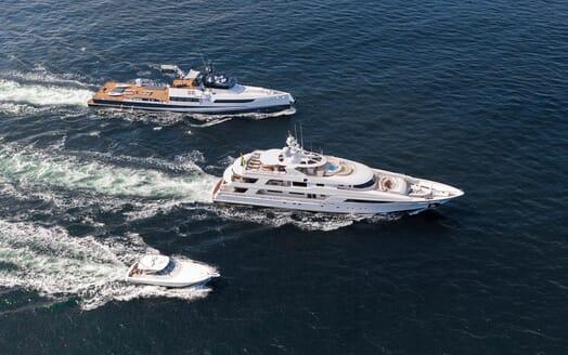 Motor Yacht Gigi  underway