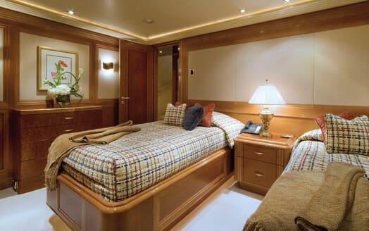 Motor Yacht Gigi twin cabin