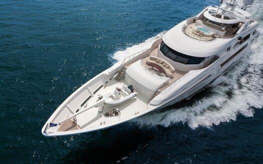 Motor Yacht Gigi aerial