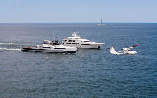 Motor Yacht Gigi cruising
