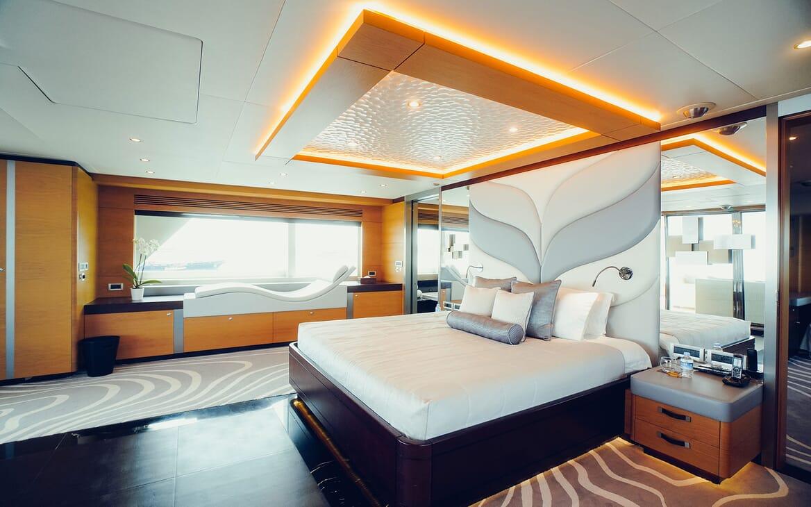 Motor Yacht Tatiana interior design