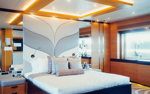 Motor Yacht Tatiana master cabin
