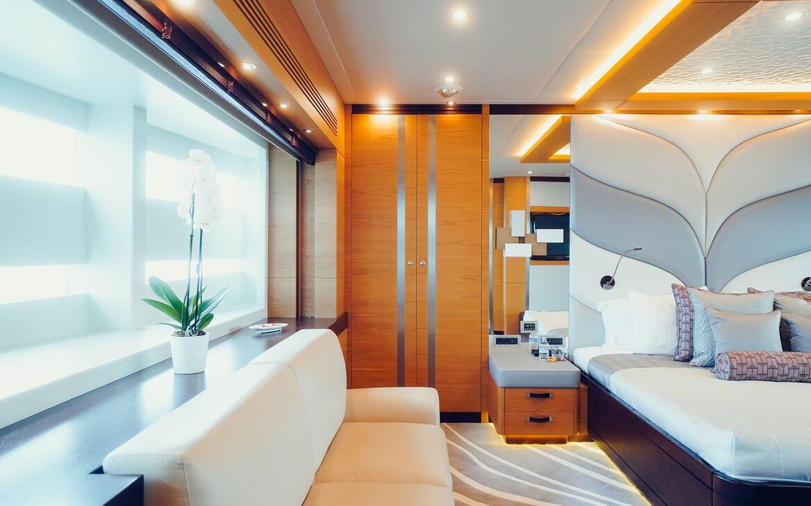 Motor Yacht Tatiana VIP cabin