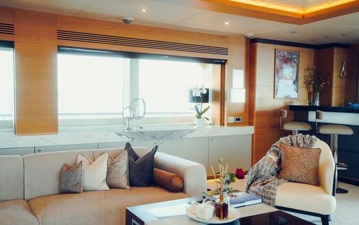 Motor Yacht Tatiana main deck