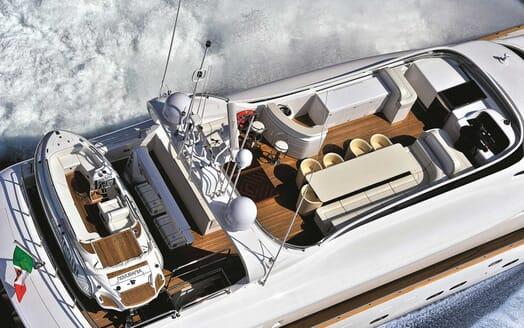 Motor Yacht Paris A aerial