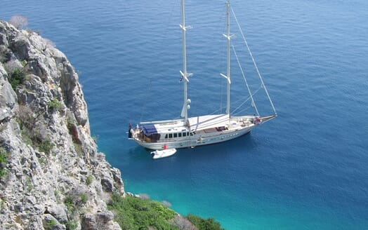 Sailing Yacht TIGERLILY OF CORNWALL Exterior View