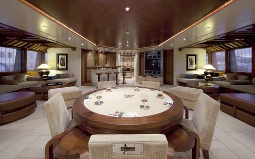 Motor Yacht Sarah living area