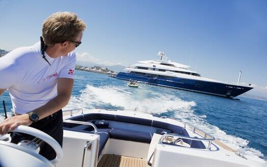 Motor Yacht Sarah tender