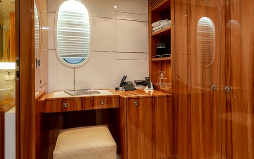 Motor Yacht SEA BREEZE ONE VIP Stateroom Desk