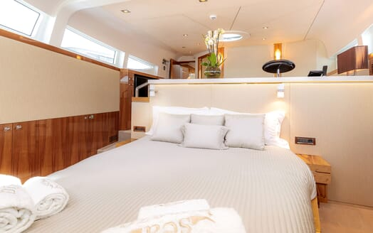 Motor Yacht SEA BREEZE ONE Master Stateroom 2