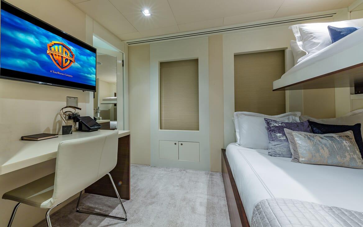 Motor Yacht Big Sky Twin Stateroom