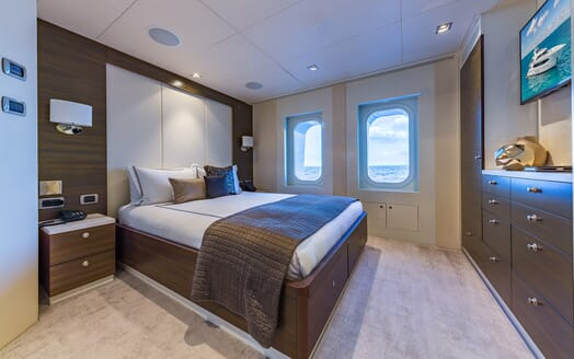 Motor Yacht Big Sky Guest Double Stateroom