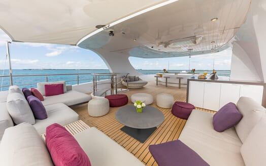 Motor Yacht Big Sky Sun Deck