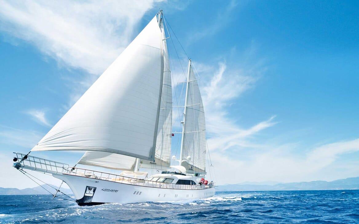 Sailing Yacht Alessandro sailing