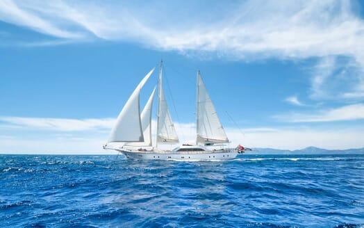 Sailing Yacht Alessandro cruising