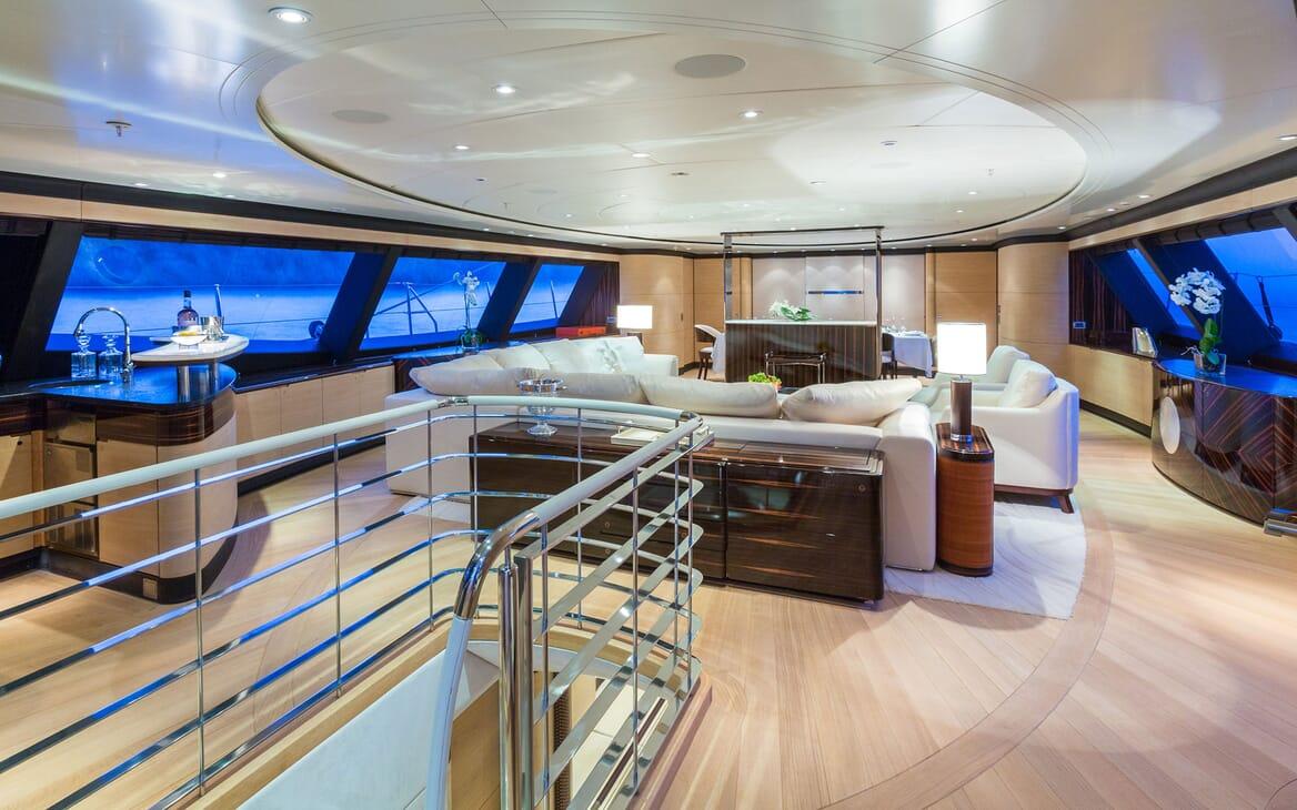 Sailing Yacht Q Main Deck Salon