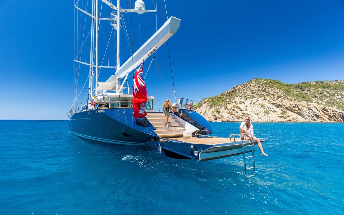 Sailing Yacht Q Aft Swim Platform