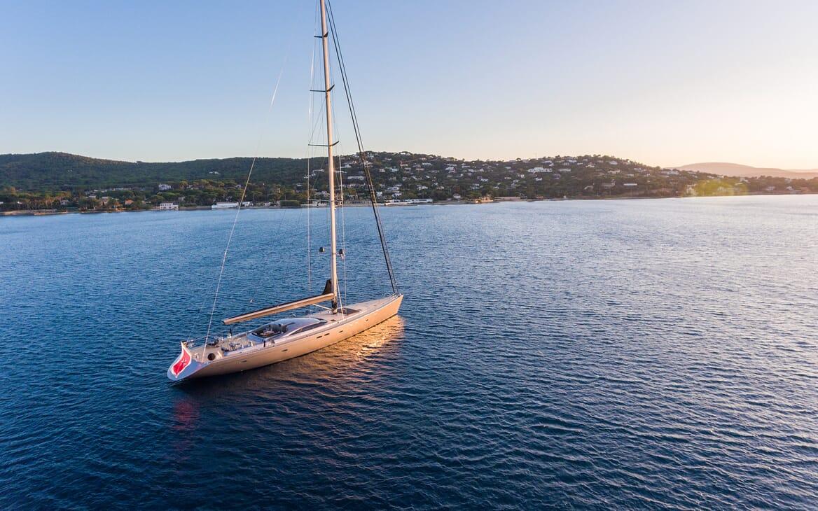 Sailing Yacht A Sulana Aerial