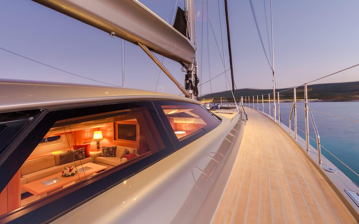 Sailing Yacht A Sulana Deck