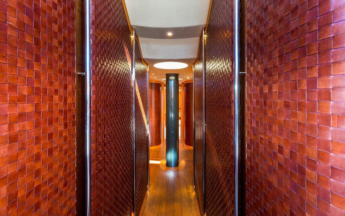 Sailing Yacht A Sulana Hallway
