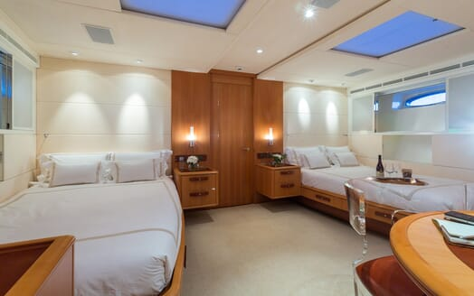 Sailing Yacht A Sulana Twin Double Stateroom