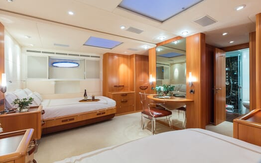 Sailing Yacht A Sulana Stateroom