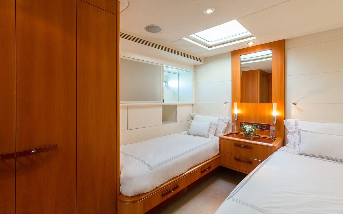 Sailing Yacht A Sulana Twin Stateroom