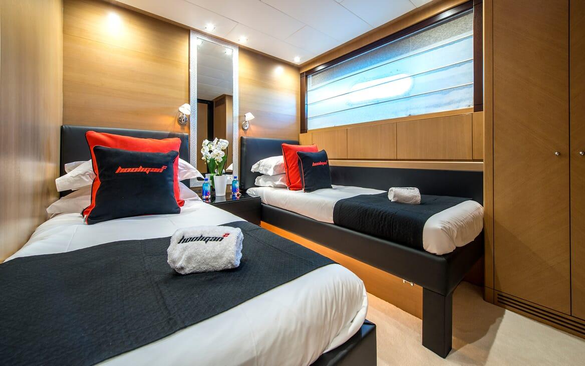 Motor Yacht Hooligan II Twin Stateroom
