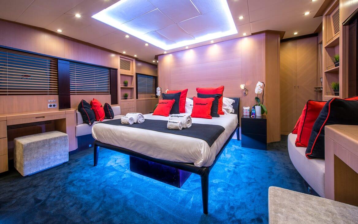 Motor Yacht Hooligan II Master Stateroom 2