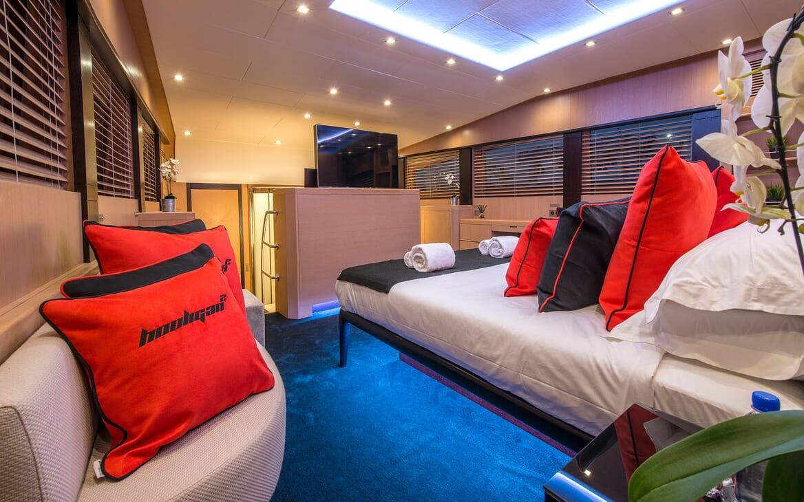 Motor Yacht Hooligan II Master Stateroom 3