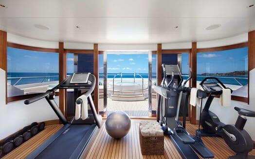 Motor Yacht Lady Britt gym