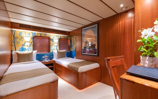 Motor Yacht NORTHERN SUN Twin Guest Stateroom