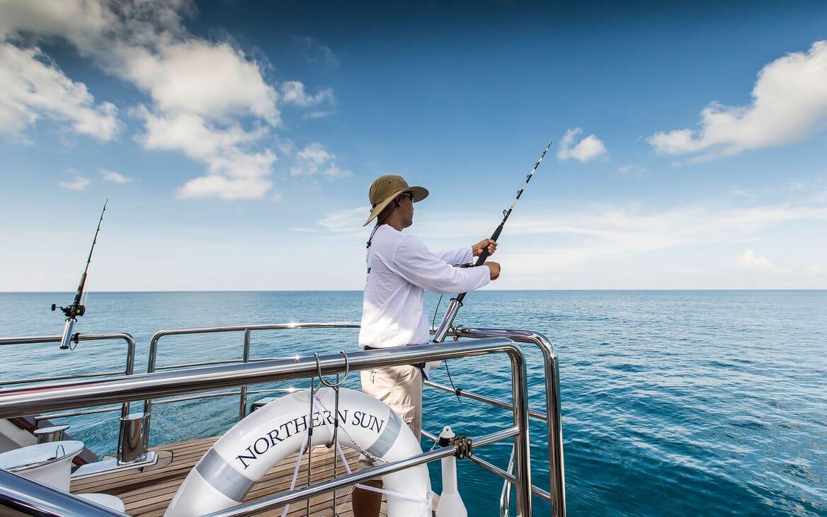 Motor Yacht NORTHERN SUN Fishing