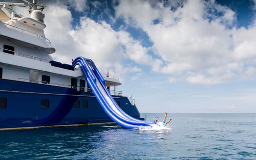 Motor Yacht NORTHERN SUN Inflatable Slide