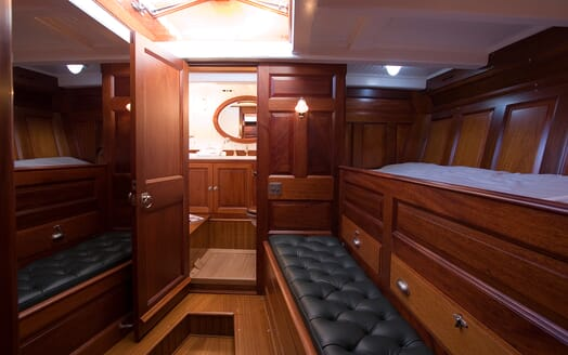 Sailing Yacht Moonbeam of Fife Twin Stateroom