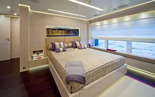 Motor Yacht BARAKA Master Stateroom