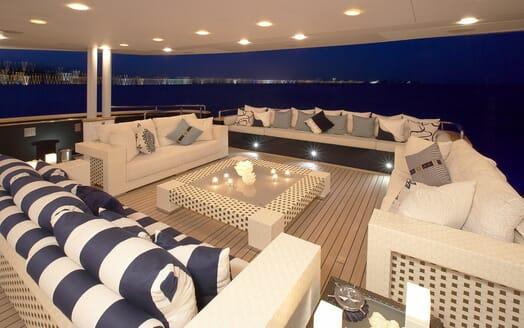 Motor Yacht Burkut main deck
