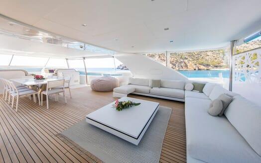 Motor Yacht ALWAYS BELIEVE Sun Deck